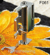 Brother Free motion open toe Quilting foot F061